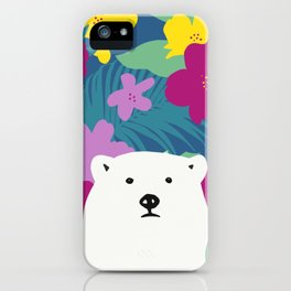 Ghoost bear iPhone Case