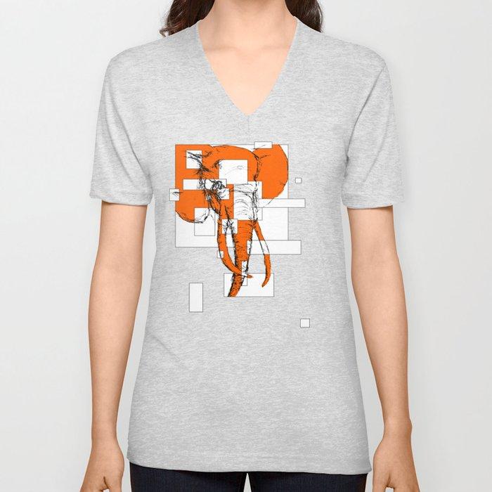 Orange is the New Elephant Unisex V-Neck