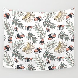 Spam Musubi Wall Tapestry