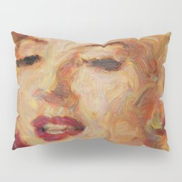 Marylin Monroe's closeup Pillow Sham