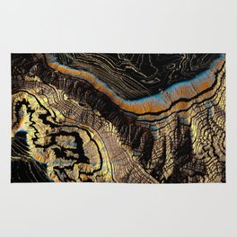 Golden Canyons Rug