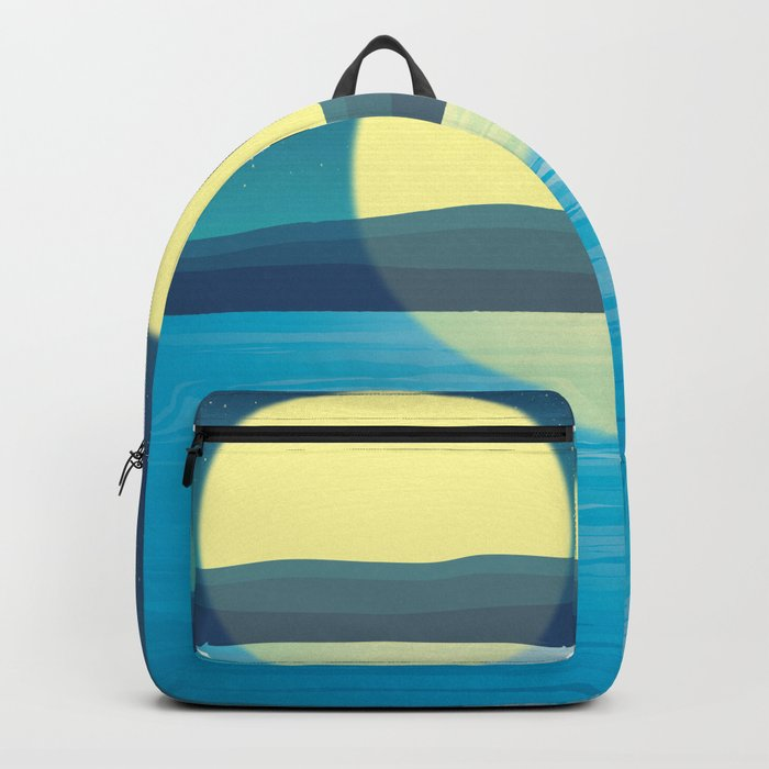 Night at the sea Backpack