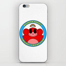 Rainbow Monkey Friendly Friend Club! iPhone Skin