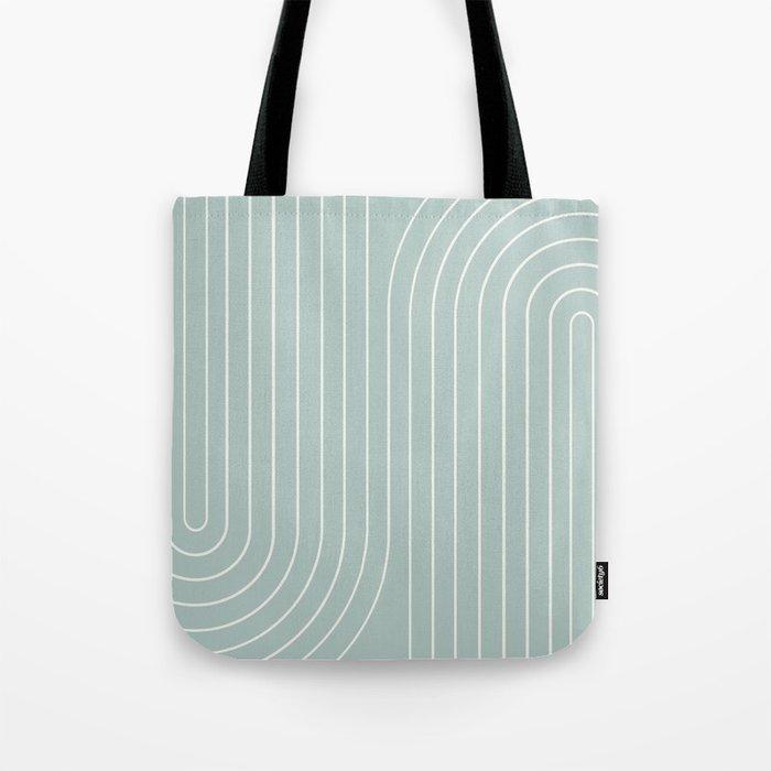 Minimal Line Curvature VII Tote Bag