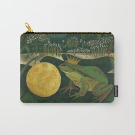 The Frog Prince Carry-All Pouch
