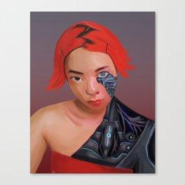cyborg stockholm syndrome Canvas Print