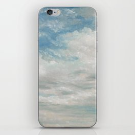 Clouds Painting, 1922 - John Constable iPhone Skin