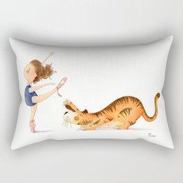 Little Ballerina Rectangular Pillow