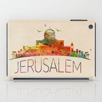 israel iPad Cases featuring israel by mark ashkenazi