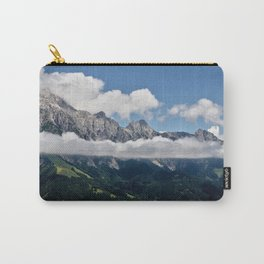 Cloudy Mountain Landscape Carry-All Pouch