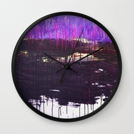Mangled Thoughts and Dreams Wall Clock