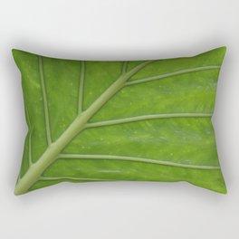 Elephant Ear Leaf Rectangular Pillow