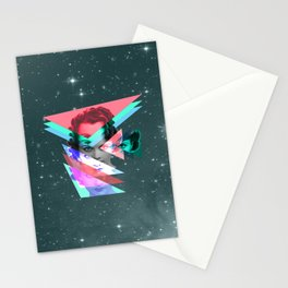 galactic implosion Stationery Cards