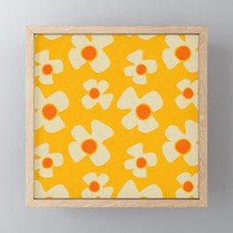 New Flower Daisy Yellow Framed Mini Art Print