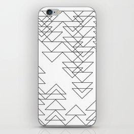 Composition 2 - Triangular Breakdown iPhone Skin