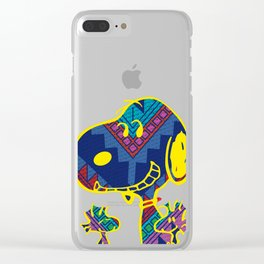 A Tribute to Peanuts Clear iPhone Case