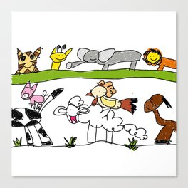 CuteAnimals Canvas Print