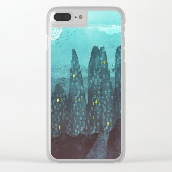 To The City Clear iPhone Case