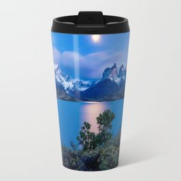 Peaceful Lakeside Photo Travel Mug