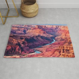 View of the Colorado River and Grand Canyon Rug
