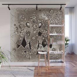 Tanz der Geishas Wall Mural