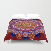 universe Duvet Covers featuring Universe  by LudaNayvelt