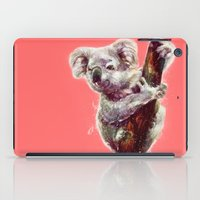 koala iPad Cases featuring Koala by beart24