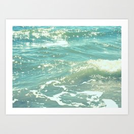 The Sea Delights Our Very Soul Art Print