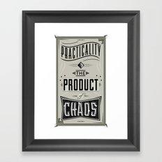Practicality Framed Art Print