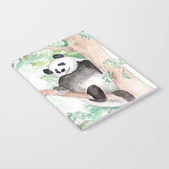 Panda, Hanging Out Notebook