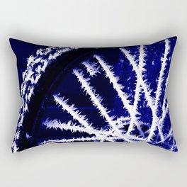 Winter spoke its intentions... Rectangular Pillow
