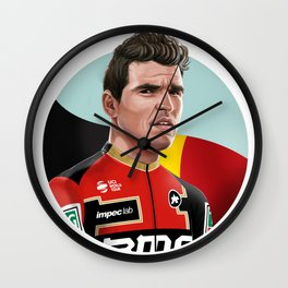 Greg Van Avermaet 2 Wall Clock