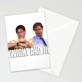 The Office Dwight and Jim Stationery Cards