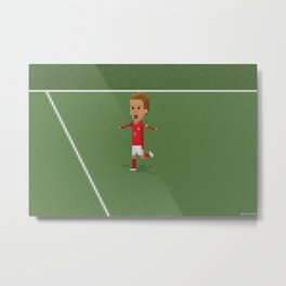 Beckham's celebration  Metal Print