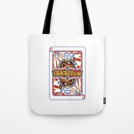 The Cracked Wild Card Tote Bag