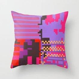 taintedcanvas54 Throw Pillow