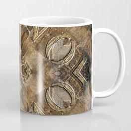 Metal Vintage Letter Abstract Coffee Mug