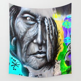 Graffiti See no Evil Wall Tapestry
