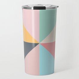 Geometric Pattern II Travel Mug