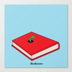 Bookworms Canvas Print