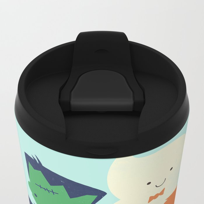 Happy Halloween! Metal Travel Mug