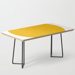 American Yellow Coffee Table