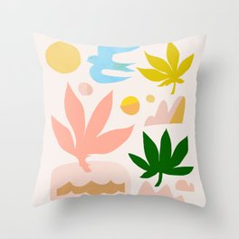Abstraction_Nature_Beautiful_Day_002 Throw Pillow