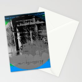 Color Chrome - B/W graphic Stationery Cards