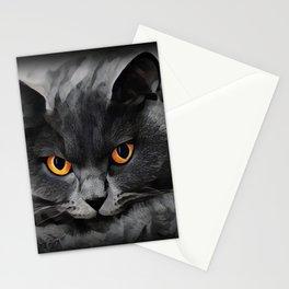 British Shorthair Kitty Stationery Cards