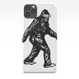 GONE SQUATCHIN' WITH 3D GLASSES iPhone Case