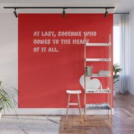 """""""Sooenme"""" Wall Mural"""