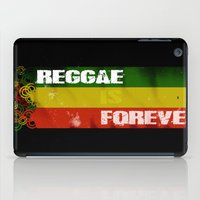reggae iPad Cases featuring Reggae Is Forever II by F. C. Brooks