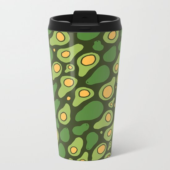 Avoavo-cadocado! Metal Travel Mug