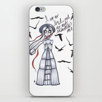jane eyre iPhone & iPod Skins featuring Jane Eyre by Natalie Easton